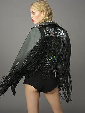 L-HELGAT, Black - Leather jackets