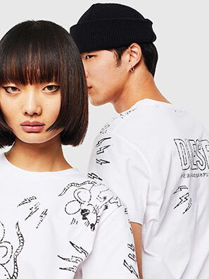 CL-T-DIEGO-3, White - T-Shirts