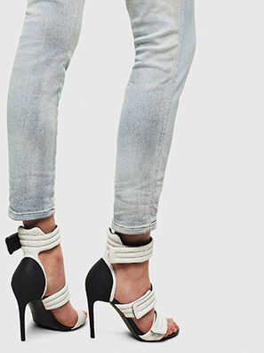 Babhila High 009AX, Light Blue - Jeans