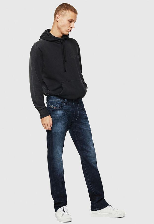 Larkee 0095W, Dark Blue - Jeans