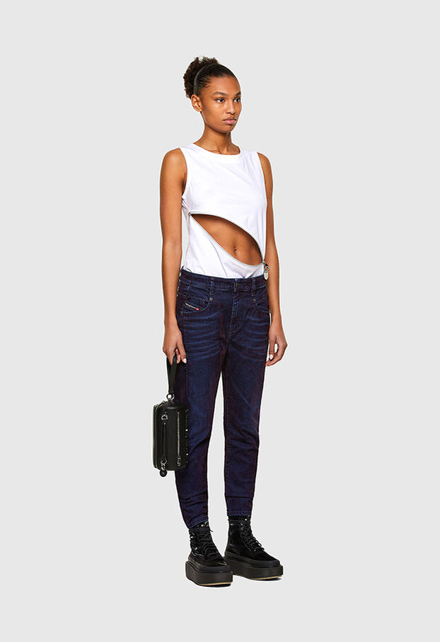 Fayza 069RQ, Blue/Yellow - Jeans
