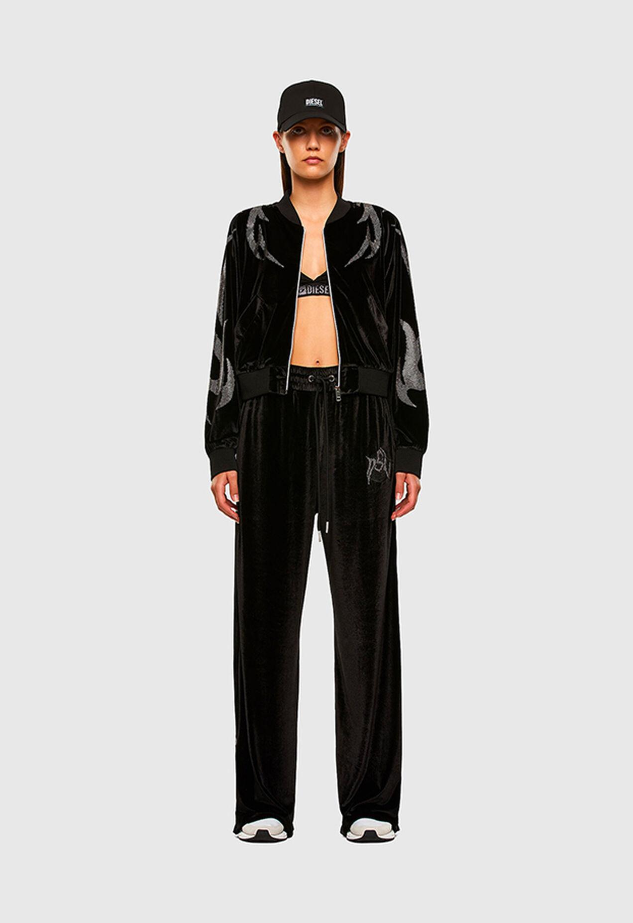 P-CHINILLE, Black - Pants