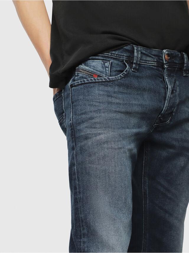 Diesel - Larkee 087AS, Dark Blue - Jeans - Image 3