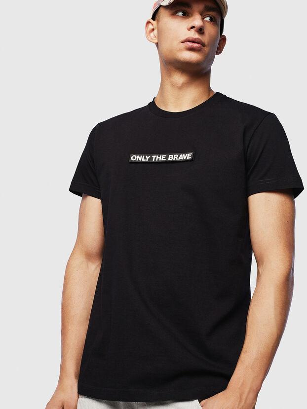 T-DIEGO-T16, Black - T-Shirts