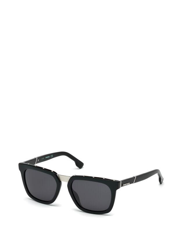 Diesel DL0212, Black - Eyewear - Image 4