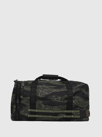 Diesel - M-CAGE DUFFLE M, Black/Green - Travel Bags - Image 2