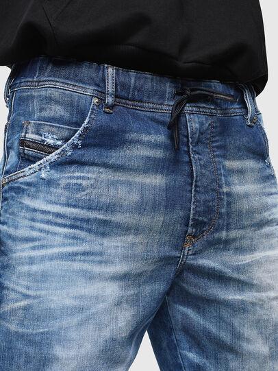 Diesel - D-KROOSHORT-T, Medium blue - Shorts - Image 4