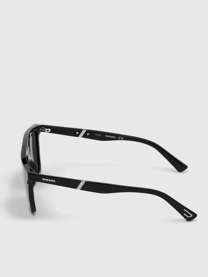 Diesel - DL0323, Bright Black - Sunglasses - Image 3