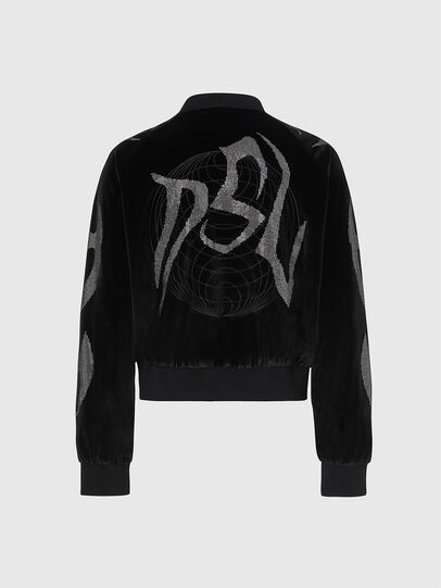 Diesel - F-CHINIL, Black - Sweaters - Image 2