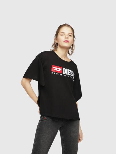 Diesel - T-JACKY-D, Black - T-Shirts - Image 1