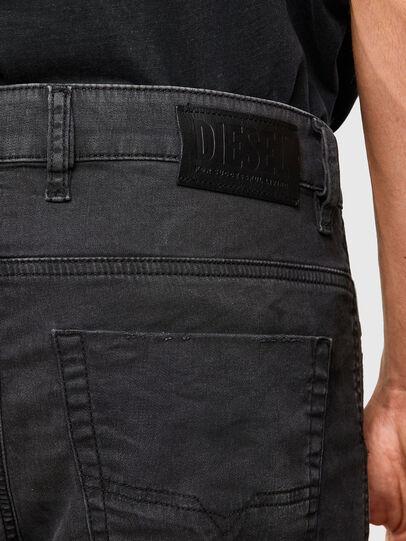 Diesel - KROOLEY JoggJeans® 069QL, Black/Dark grey - Jeans - Image 4