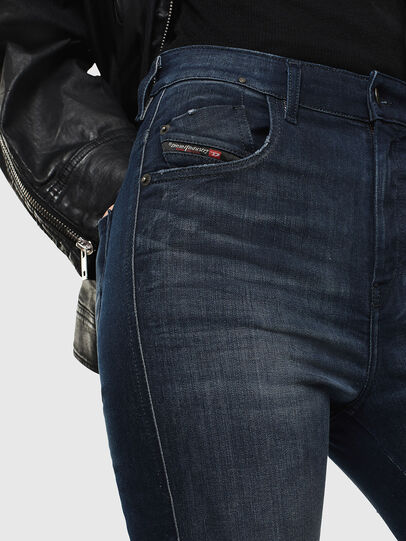 Diesel - Slandy High 0870C, Dark Blue - Jeans - Image 3