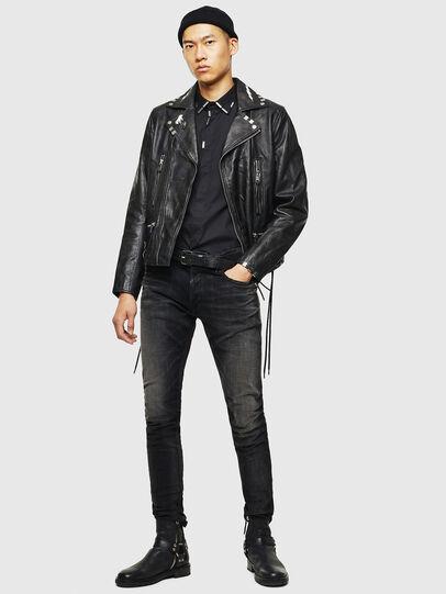 Diesel - Tepphar 0098B, Black/Dark grey - Jeans - Image 6