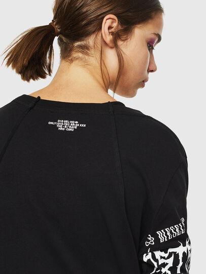 Diesel - T-PAISS, Black - T-Shirts - Image 5