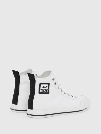 Diesel - S-ASTICO MID CUT W, White - Sneakers - Image 3
