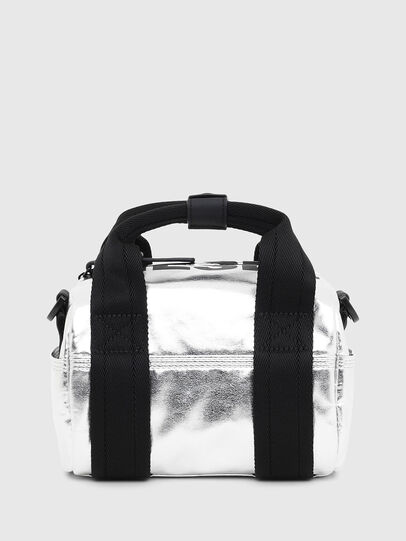 Diesel - F-BOLD MINI, Silver - Satchels and Handbags - Image 1