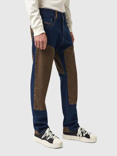 Diesel - D-Viker 0AFAK, Dark Blue - Jeans - Image 4