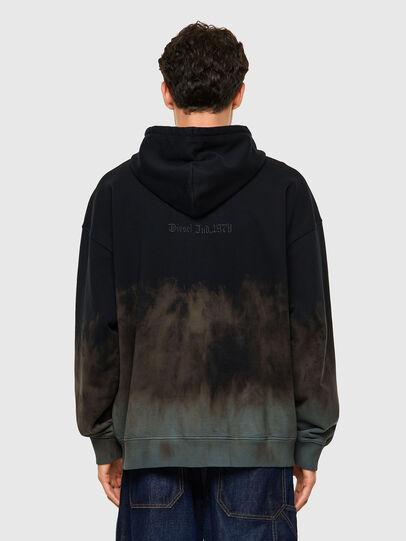Diesel - S-UMMER-ZIP-B1, Grey - Sweaters - Image 2