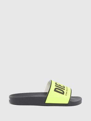 SA-VALLA W, Black/Yellow - Slippers