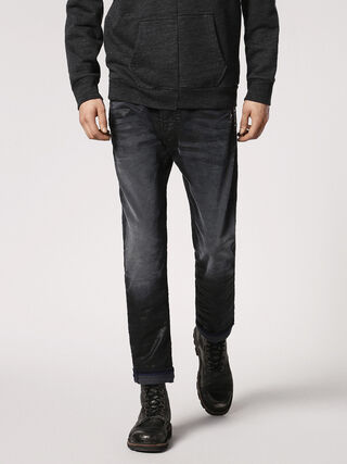 THAVAR SPC JOGGJEANS 0683I, Black Jeans