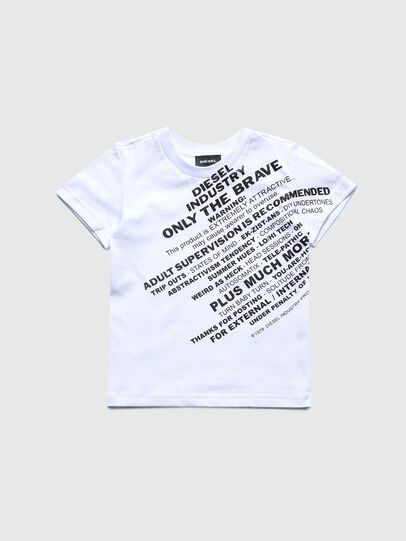 Diesel - TDIEGOS3B-R, White - T-shirts and Tops - Image 1