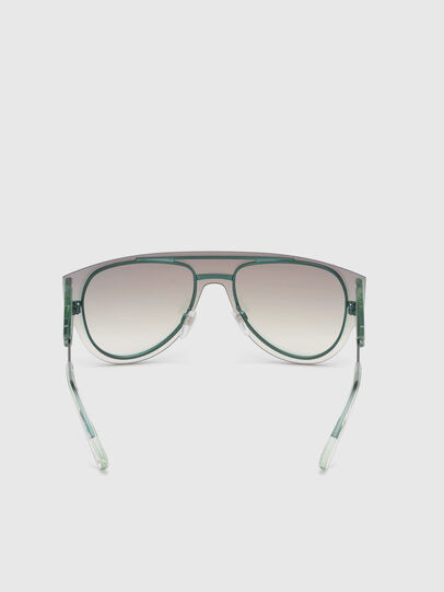 Diesel - DL0273, Pink/White - Sunglasses - Image 4