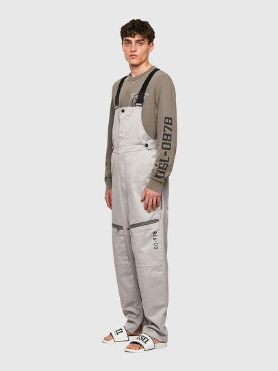 Diesel - P-JUMP-A, Light Grey - Jumpsuits - Image 5