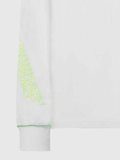 Diesel - T-JUSEAM-LS, White - T-Shirts - Image 3