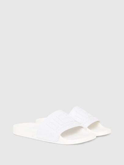 Diesel - SA-MAYEMI W, White - Slippers - Image 2