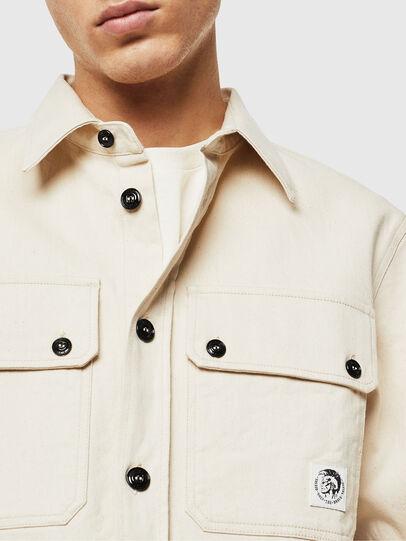 Diesel - S-JESSY, White - Shirts - Image 3