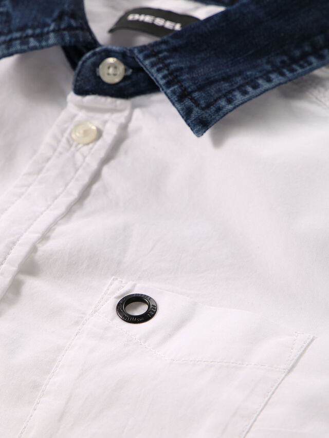 Diesel - CYMELDN, White - Shirts - Image 3