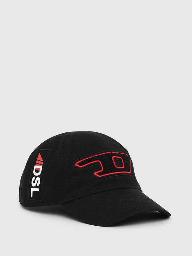 Diesel - PS-CAP, Black - Caps - Image 1