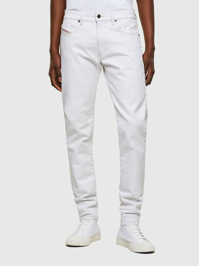Diesel - D-Strukt 003AF, White - Jeans - Image 1
