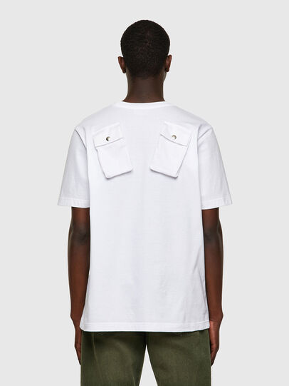 Diesel - T-JUSPOCK, White - T-Shirts - Image 2
