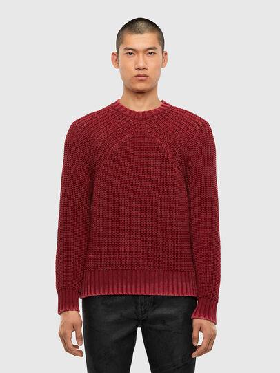 Diesel - K-LIAM, Brown - Knitwear - Image 1