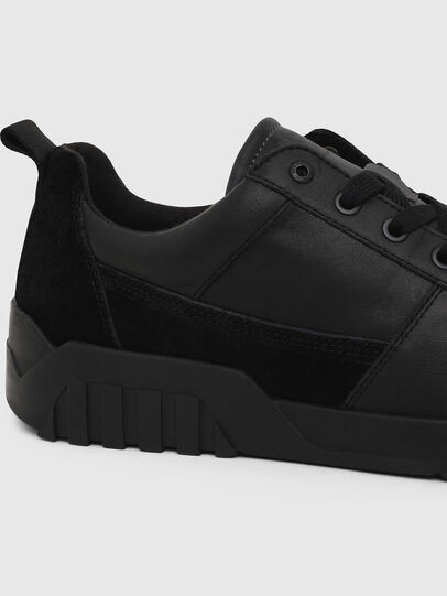 Diesel - S-RUA LOW, Black - Sneakers - Image 4