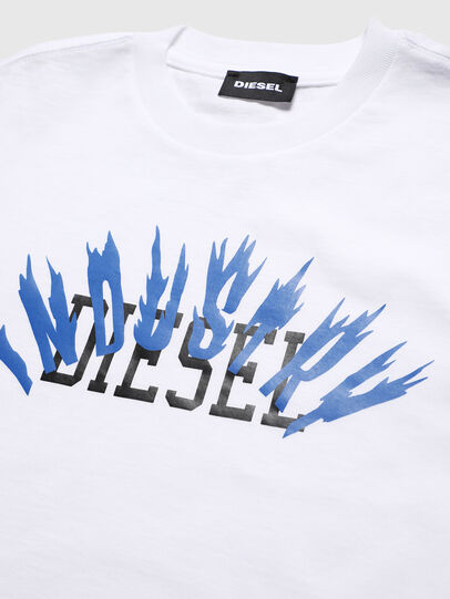 Diesel - TDIEGOA10, White - T-shirts and Tops - Image 3