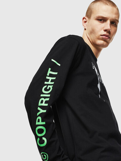Diesel - T-JUST-LS-VINT,  - T-Shirts - Image 4