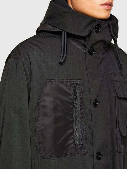 Diesel - J-LOTTA, Black - Jackets - Image 4