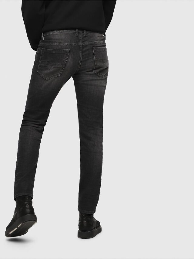 Diesel Thommer 0687J, Black/Dark grey - Jeans - Image 2