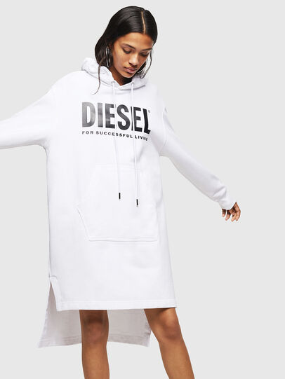 Diesel - D-ILSE-T, White - Dresses - Image 1
