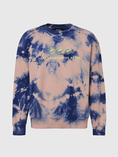 Diesel - S-BIAY-X10, Pink/Blue - Sweaters - Image 1