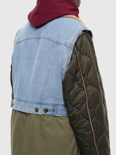 Diesel - W-SHAYL, Military Green - Winter Jackets - Image 5