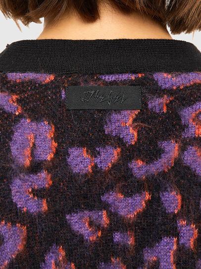 Diesel - M-REBECCA, Violet/Black - Knitwear - Image 4