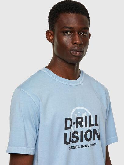 Diesel - T-JUBINDY, Light Blue - T-Shirts - Image 3