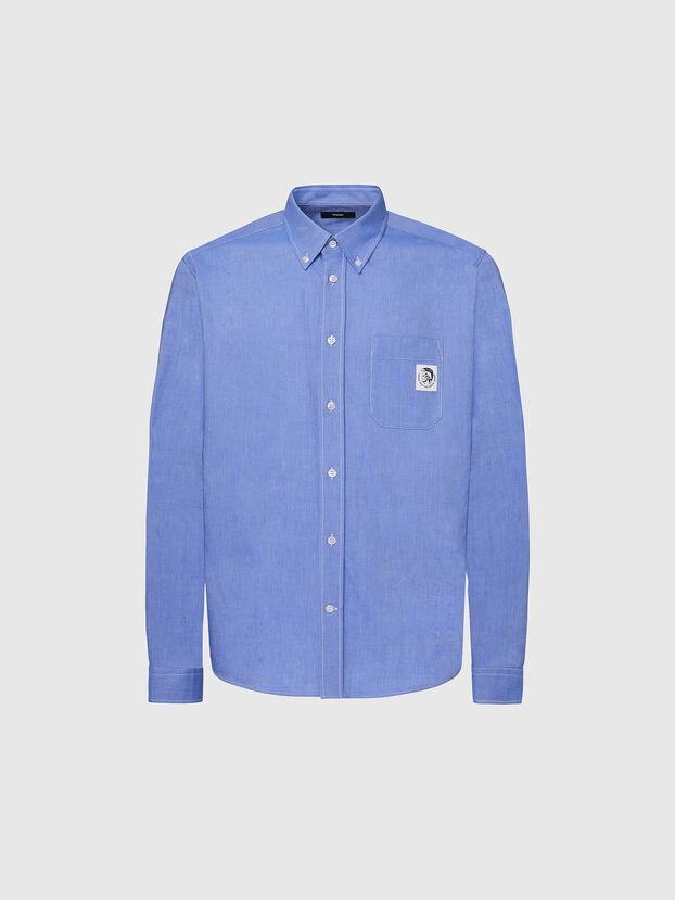 S-JAMES, Light Blue - Shirts