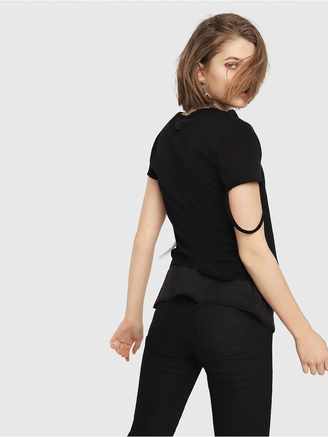 Diesel - T-EMIKO-B, Black - T-Shirts - Image 2