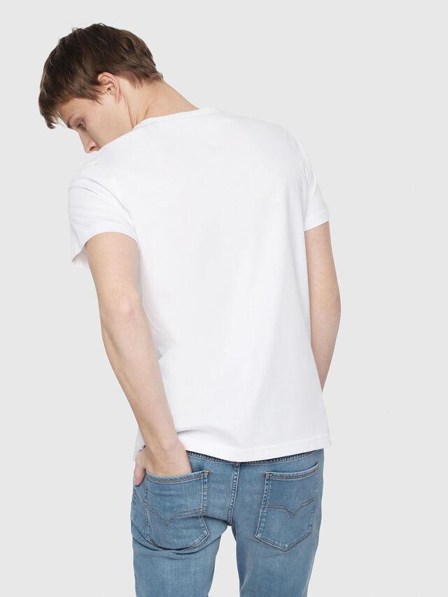 Diesel - T-DIEGO-YB, White - T-Shirts - Image 2