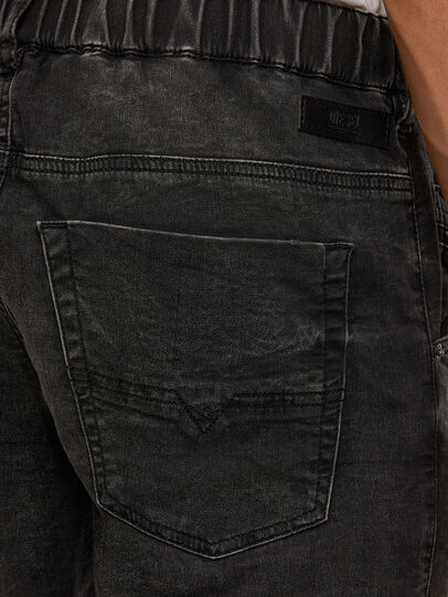 Diesel - Krooley JoggJeans 009FZ, Black/Dark grey - Jeans - Image 4