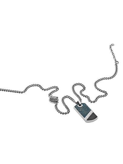 Diesel - NECKLACE DX1030, Blue Jeans - Necklaces - Image 2